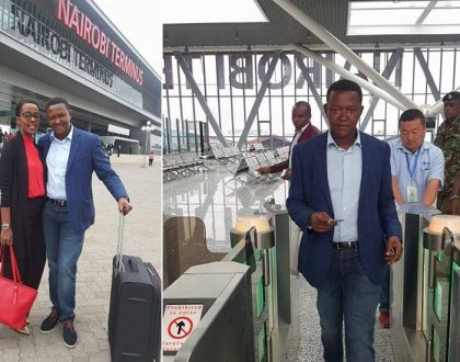 """The taps were dry and the stench…"" Alfred Mutua narrates his trip on SGR train (Photos)"