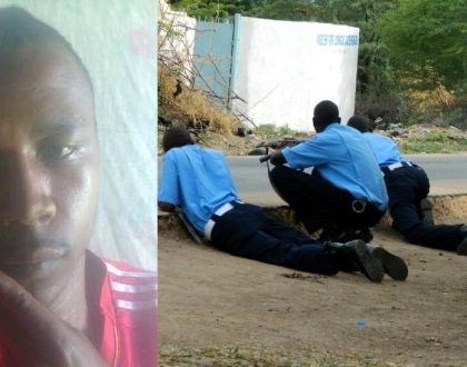 Another hardcore thug warns killer cop Hessy as police officer is shot by Dandora gang (Photo)