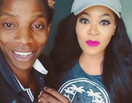 """You are so silly Eric"" Vera Sidika unable to contain herself while goofing around with Eric Omondi"