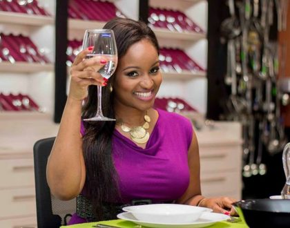Goals! Inside Grace Msalame's exquisite home