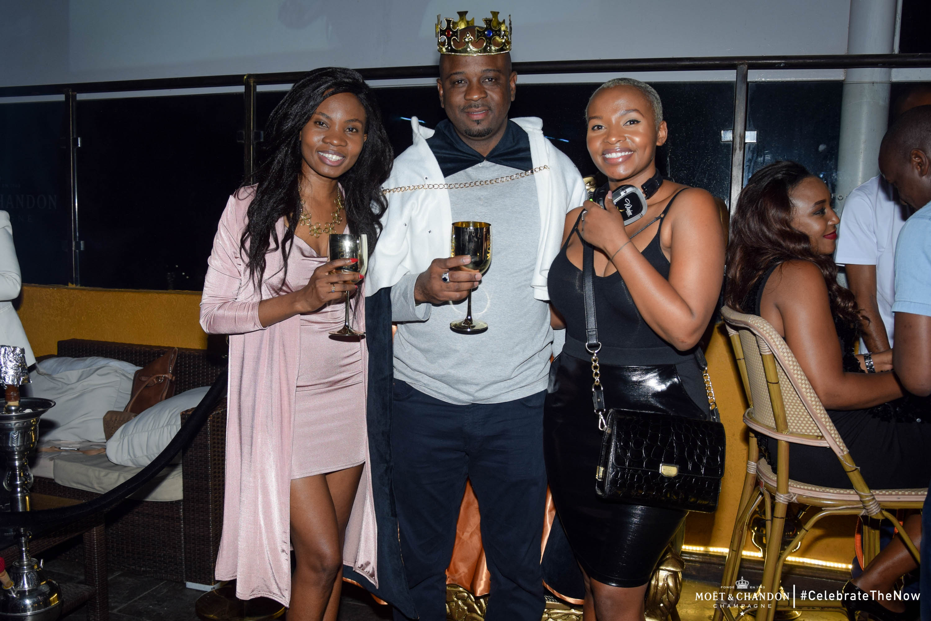 Celebrate the now Ali Oumarou crowned as the first Moët King