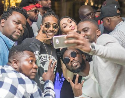 Omarion parties with Vera Sidika and other popular faces at kiza, checkout the lit photos!