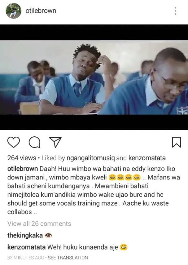 New Music Alert!!! After Ditching Bahati's EMB Records ...