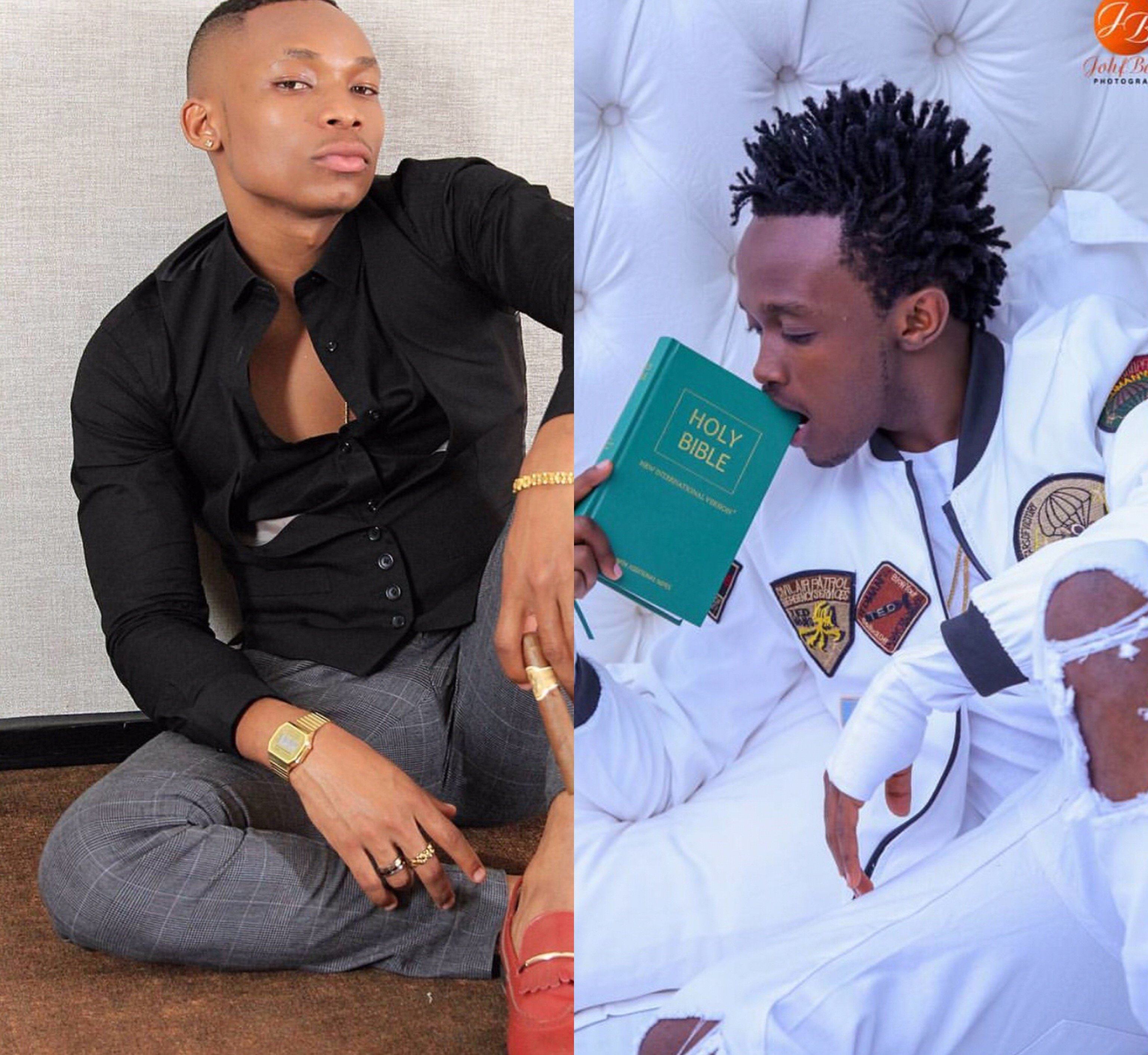 Zero chills: Otile Brown throws shade at Bahati's new song and asks him to get some vocal training