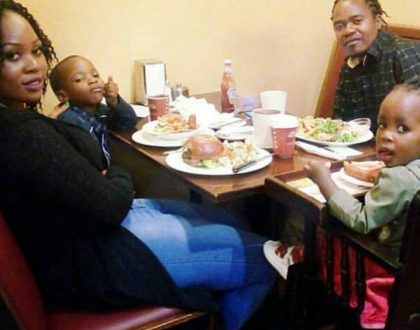 10 beautiful photos of Jua Cali, his pretty wife and two kids (Photos)