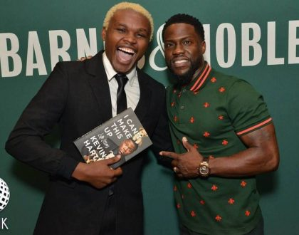 Meet the beautiful 'white lady' who exposed Chipukeezy's lie about his meeting with Kevin Hart