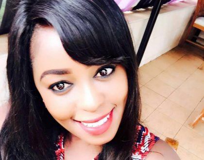Lillian Muli is seen eating Omena and ugali and the internet can't handle it (Photos)