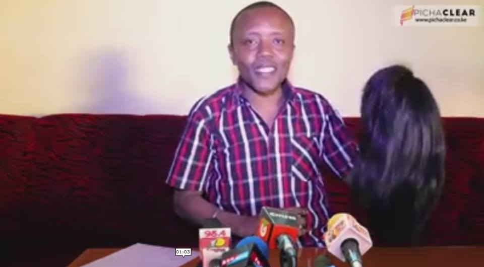 Social media goes wild after Maina Kageni announces he is vying for the Nairobi Women representative seat