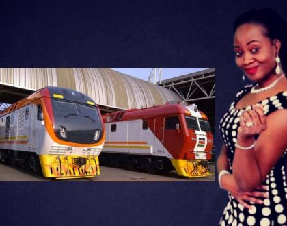 Nigerian journalist Adeola Fayehun mocks Kenya's SGR trains but agrees the train stations better than their airports