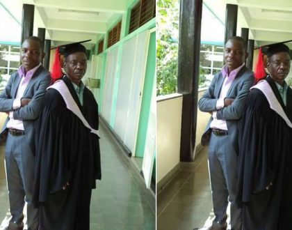 Kes 221 million winner Samuel Abisai walks into Anniversary Towers and clears HELB loan in lump sum payment (Photos)
