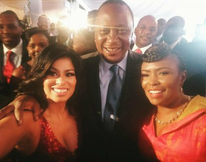 Julie Gichuru takes the bullet for Uhuru Kenyatta as Kenyans roast her for siding with the president