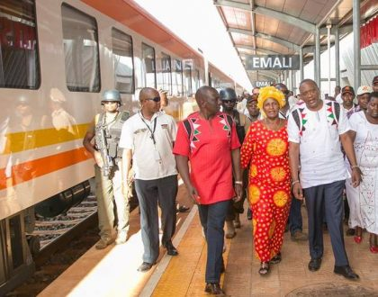 Designated survivor locked down, Ruto flown to all stations..How security prevented 1st and 2nd in succession line from traveling with Uhuru on same train