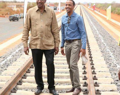 President Uhuru Kenyatta steps out wearing a designer watch worth Ksh 790,400 (Photos)