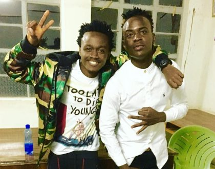 Bahati's shocking message to Willy Paul after he dropped yet another controversial song