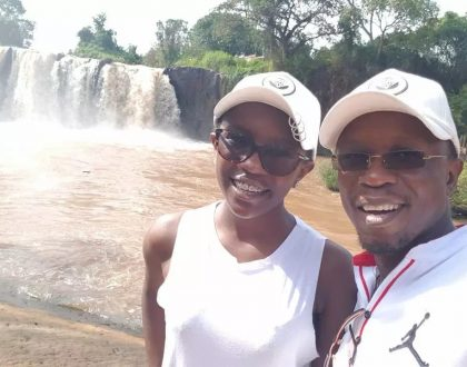 Photos of Ababu Namwamba's pretty teenage daughter that was not known to the public until recently
