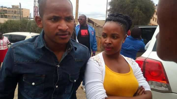 Babu Owino parades his beautiful wife and daughter in public for the first time (photos)