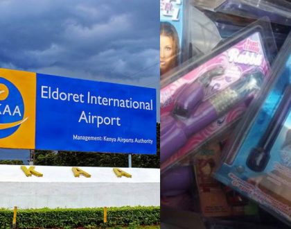 Angry reactions as KRA seize and burn ladies' sex toys destined for Eldoret universities (photos)