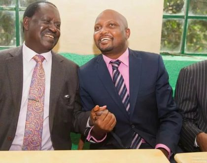 Moses Kuria: I prayed and made a deal with God that if we win this election God will kill Raila (Video)