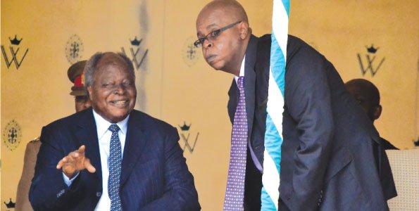 """My father is in good health, ignore the rumors"" Kibaki's eldest son finally speaks"