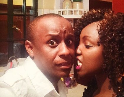 """""""Daddy's loves you"""" Phil Karanja celebrates Catherine Kamau's son in an emotional post, who knew he could make such an amazing dad!"""