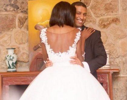 7 amazing photos of Adelle Onyango's wedding dress that has left many talking