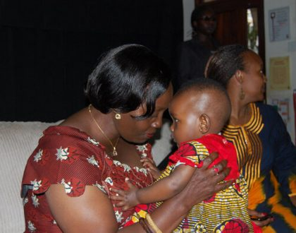 Meet the adorable bouncing baby girl Martha Karua helped deliver (Photo)