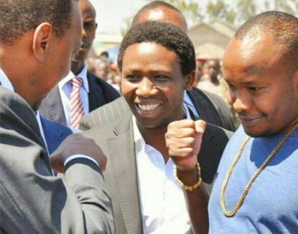 Jaguar following in president Uhuru Kenyatta's footsteps