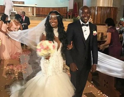 Stunning! Real Housewives of Atlanta star Shamea Weds her Kenyan sweetheart Gerald in a star studded wedding