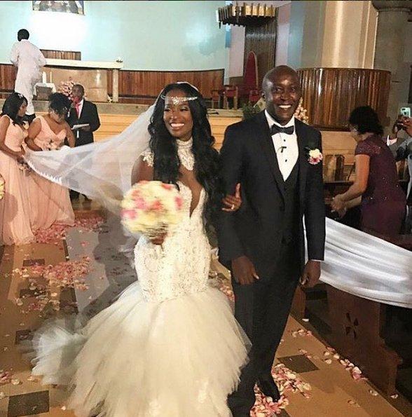 Stunning! Real Housewives of Atlanta star Shamea Weds her Kenyan sweetheart Gerald in a star studded wedding