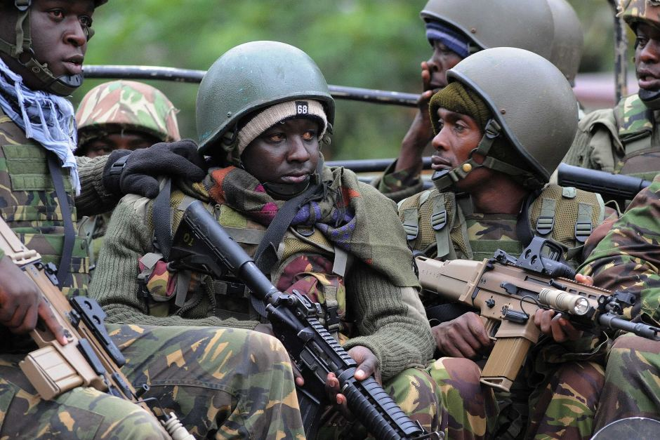 KDF soldiers caught on camera shooting innocent Kenyan in broad daylight