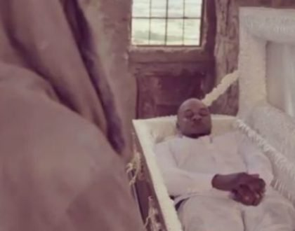 Khaligraph Jones drops jaws after rising from the dead in new video