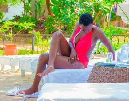 """""""Jalang'o kama hungetoka homabay I would have married you"""" Singer Akothee's confession leaves asking questions"""