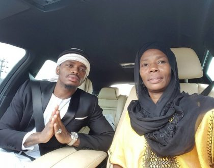 This is how Diamond Platnumz celebrated his mum's birthday earlier today (Photo)