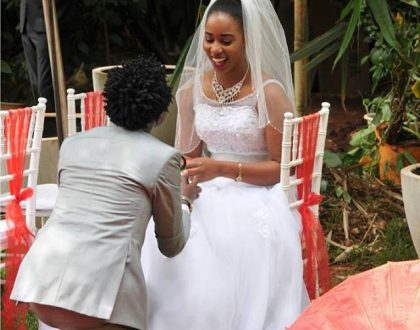 Despite being pregnant Bahati's fiancé spills more details about their soon to happen wedding