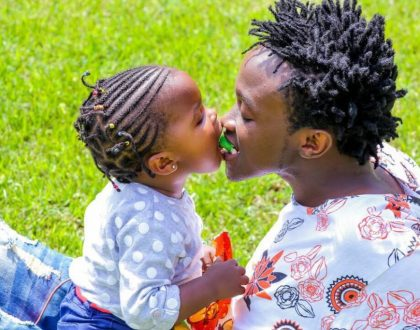 """My baby doesn't call Bahati dad"" Bahati's baby mama Yvette Obura opens up"