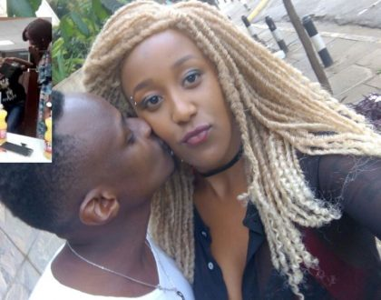 Pretty lady who reject marriage proposal at Nairobi's Chicken Inn hooks up with millionaire reggae artist (Photos)