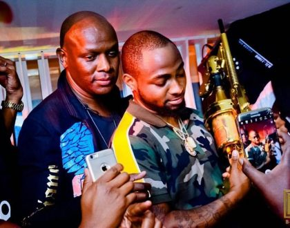 Man caught stealing Davido's expensive chains at Nairobi's B-Club speaks (Photos)