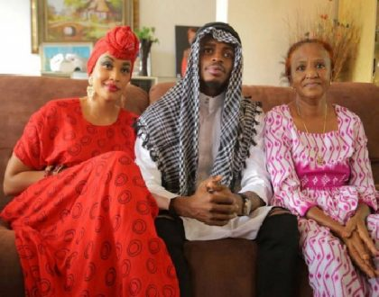 Diamond mourns the death of Zari's mother who succumbed to heart complications