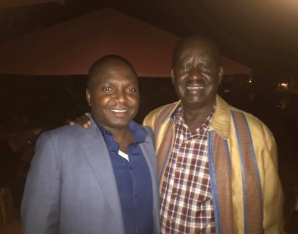 DP Ruto's best friend Donald Kipkorir chooses political dalliance with Raila Odinga