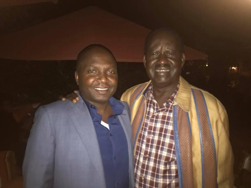 DP Ruto's best friend Donald Kipkorir chooses political dalliance with Raila Odinga