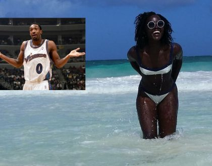 """She's only cute when lights are off"" ex NBA player Gilbert Arenas attacks Lupita Nyongo for flaunting dark skin in Mexico (Photos)"