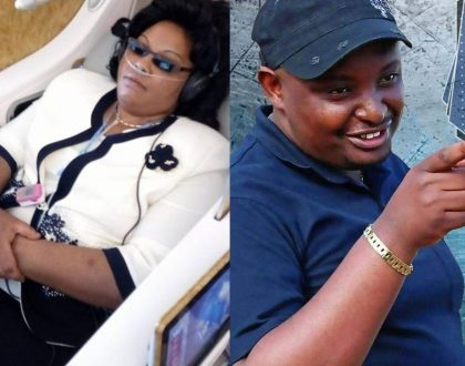 Ndugu Nyoro chooses to transfer 5 million to Gladys Kamande's account after fierce scuffle