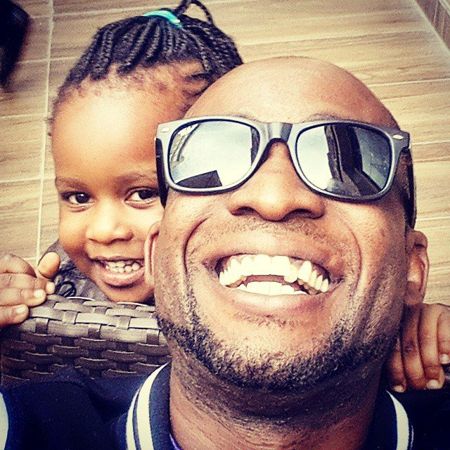 Beautiful; Former Kleptomaniax's member Collo parades his all grown cute daughter
