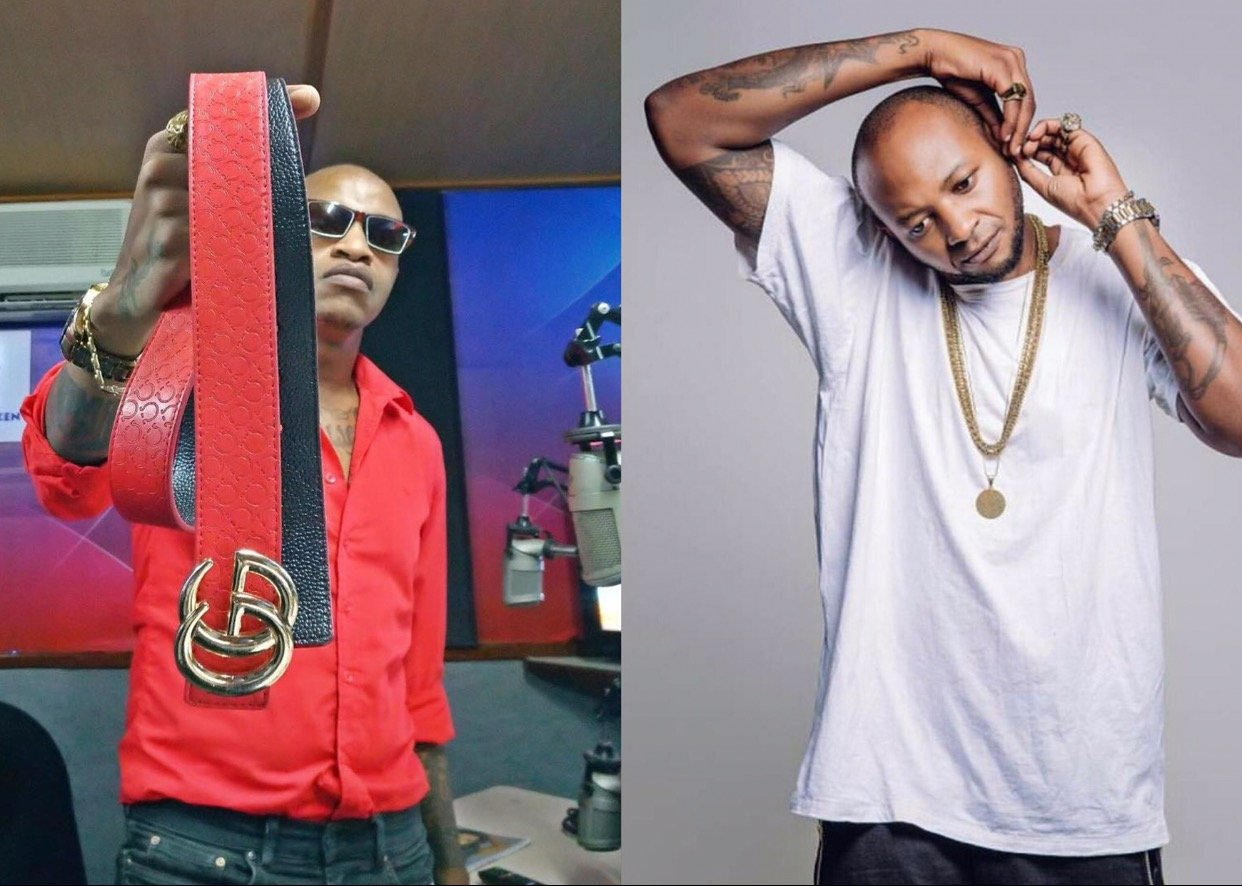 """""""I can never fight a man like him!"""" Prezzo roasts Mustapha on air"""