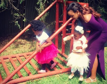 Betty Kyallo's 3 year old daughter steps out carrying a Chanel purse worth Ksh 90,000