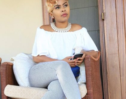 """""""I love you daddy!"""" Size 8 celebrates her dad's birthday with this beautiful message, meet the handsome man (Photo)"""