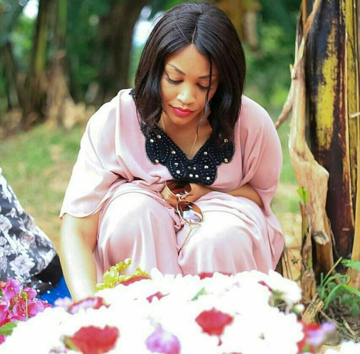 Zari's late mum given her final send off (photos)