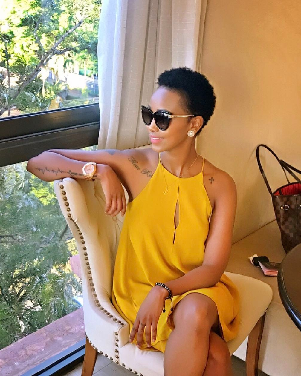 Huddah Monroe exposes a high government official who stole her project idea