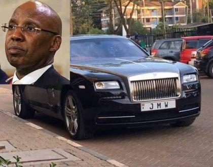 5 photos of Kes 31 million Rolls Royce Wraith that Kenya's most feared wheeler dealer -  Jimi Wanjigi owns