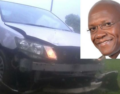 Boni Khalwale's four children involved in accident in Kaimosi (Photos)